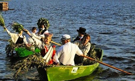 Rent a Row Boat in Ikšķile, Latvia