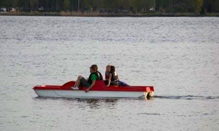Rent a Paddle Boat in Ikšķile, Latvia