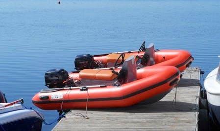 Rent a Rigid Inflatable Boat in Ikšķile, Latvia