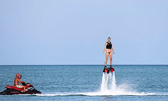 Enjoy Flyboarding In Ko Samui, Thailand!