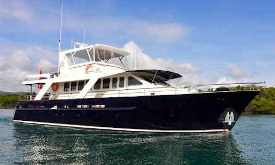 Charter 70' Blue Martini Power Mega Yacht In Port Douglas, Queensland