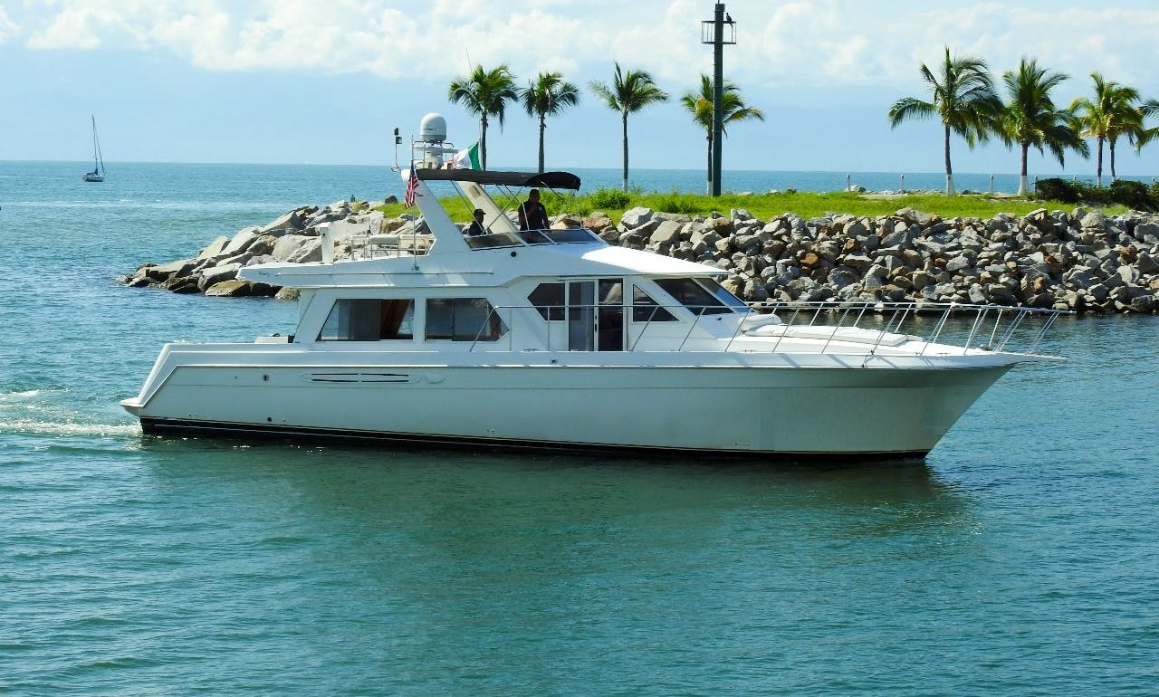 The Most Affordable & Comfortable Yacht Charter: Navigator 60 in Nuevo Vallarta, Mexico