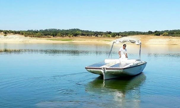 23' Sunconcept Electric Boat Rental In Avis, Portugal