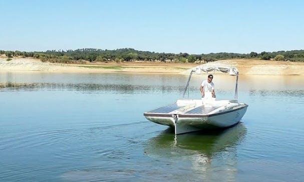 23' Sunconcept Electric Boat Rental In Avis, Portugal