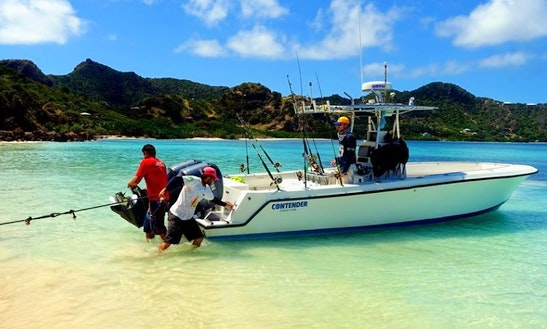 Fishing Charter On 30' Contender Center Console In Clifton, Saint Vincent And The Grenadines