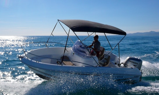 Rent 18' Jeanneau Cap Camarat Center Console In Saint-gilles Les Bains, Reunion