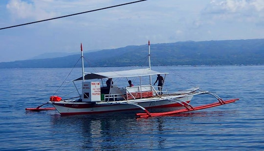 Traditional Boat Rental In Oslob, Philippines For Up To 20 Passengers
