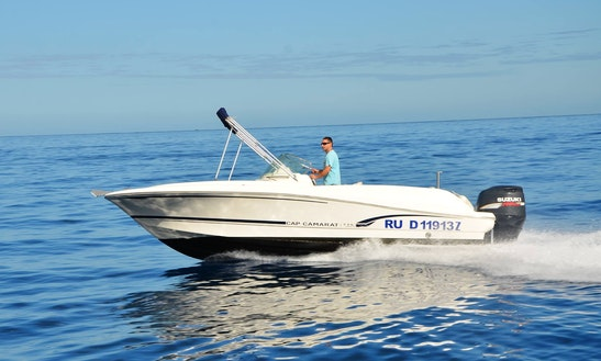 Rent 23' Jeanneau Cap Camarat Center Console In Saint-gilles Les Bains, Reunion