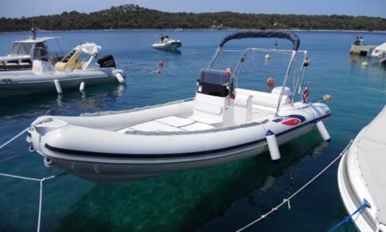 Rent 21' Selva Rigid Inflatable Boat In Saint-gilles Les Bains, Reunion