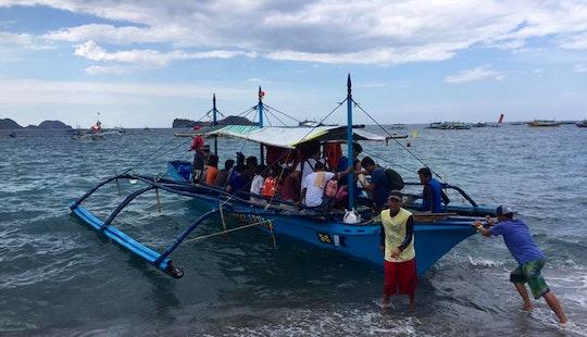 Daily Bangka Trips Around Zambales Coast For 20 People!