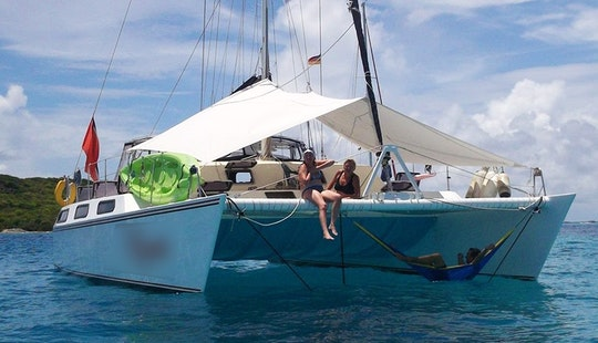 42' ''picante'' Cruising In Saint George, Grenada