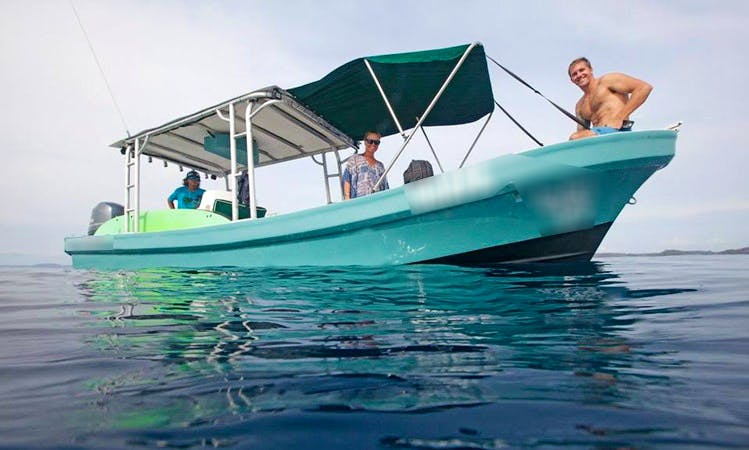 "Fun at the Ocean tours on 28ft ""La Guapa"" Boat in Coco, Guanacaste"