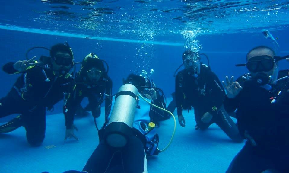 Fun Discover Scuba Diving Program in Mabini, Philippines