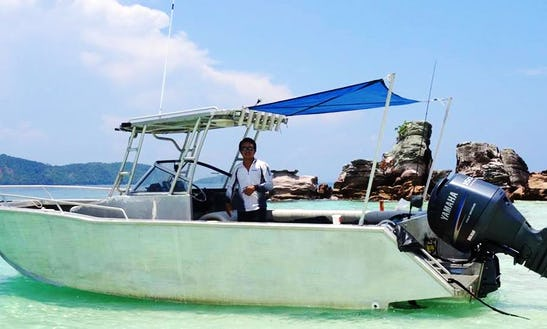 Enjoy Fishing In Phuket, Thailand On Cuddy Cabin