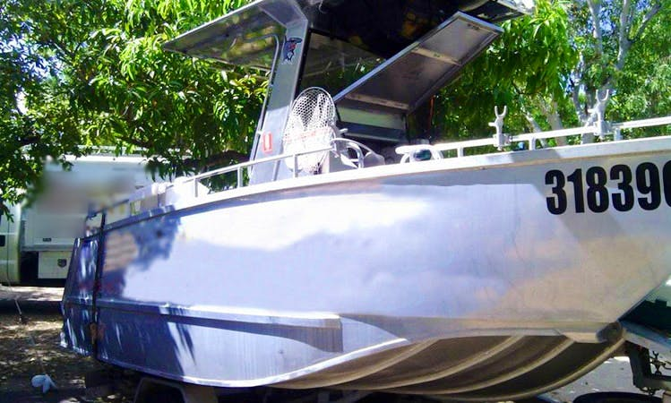 Enjoy Fishing in Karumba, Queensland on Center Console