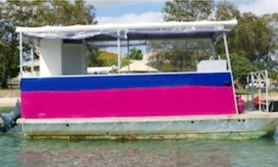 Enjoy A Fun Day In Maroochydore, Queensland In This Bbq Boat