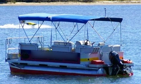 Spend The Day On A River In Queensland, Australia With This Pontoon Boat
