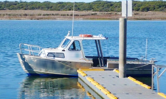 Enjoy Fishing At Lake Tyers Beach In Victoria With Captain Colin