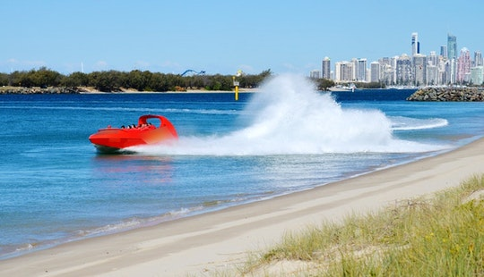 Jet Boat Tour In Surfers Paradise