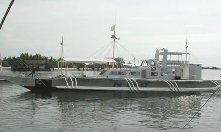 Charter NDC Traditional Boat in Lapu-Lapu City, Philippines