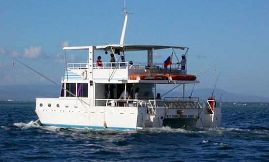 Enjoy Fishing In Lapu-lapu City, Philippines On Power Catamaran
