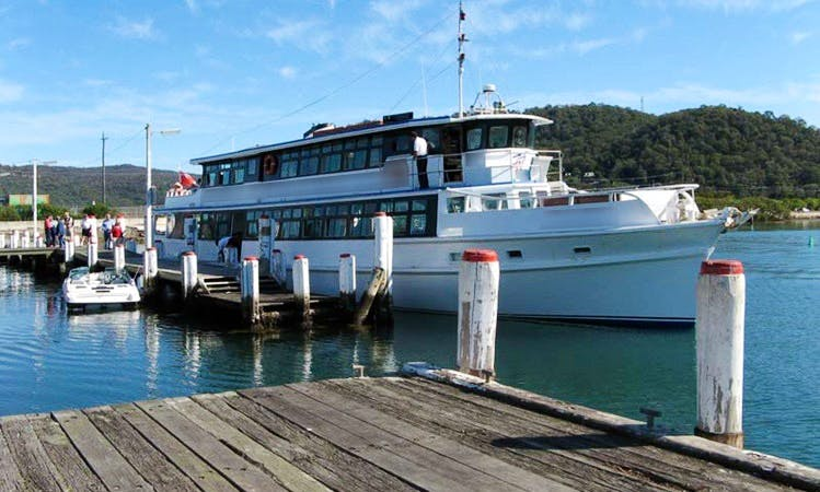 Traditional Timber Cruise in Gosford, NSW Australia