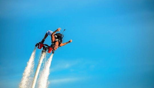 Fly As High As 10 Meters On A Flyboard In Dubai