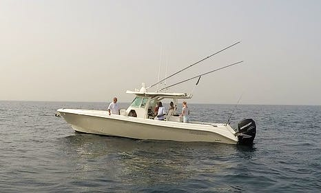Enjoy Fishing in Lagos, Nigeria on 27' Everglades Center Console