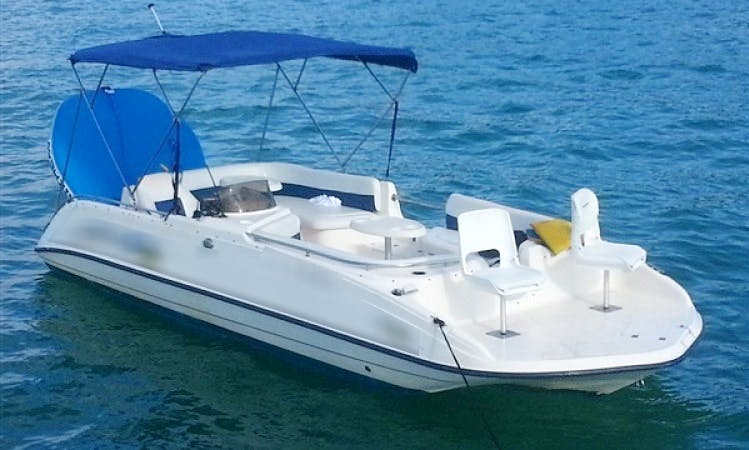 Rent 22' Key West Deck Boat In Miami, Florida