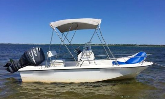 Rent This 16ft Edgewater Center Console In Nantucket, Massachusetts