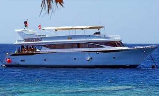 Charter 79' Power Mega Yacht In Aqaba, Jordan