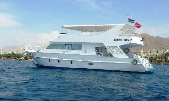 Charter 59' Sharks Bay 2 Power Mega Yacht In Aqaba, Jordan