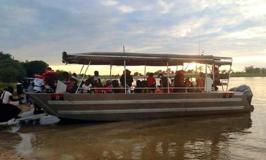 Enjoy Fishing In Pretoria, South Africa On Passenger Boat