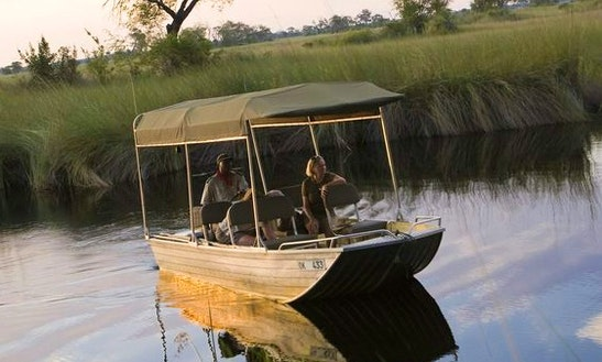 The Perfect Boat For A Fishing Tour