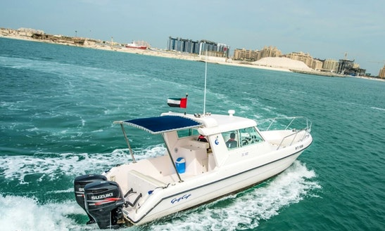 Charter 31' Salama 8 Cuddy Cabin In Dubai, United Arab Emirates