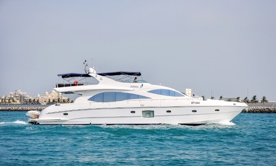 Charter 88' Majesty Power Mega Yacht In Dubai, United Arab Emirates