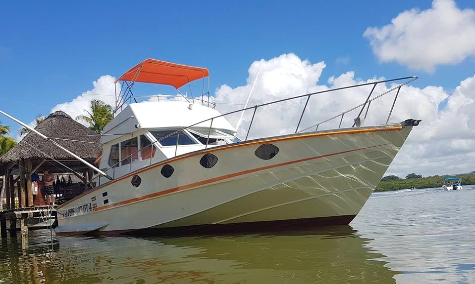 Enjoy Fishing in Grand Baie, Mauritius on 45' Le Performant 4 Sport Fisherman