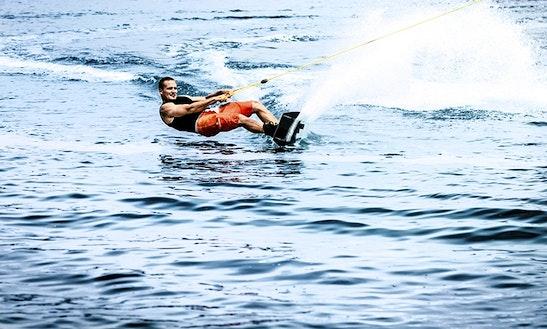 Enjoy Wakeboarding In Ras Al-khaimah, United Arab Emirates