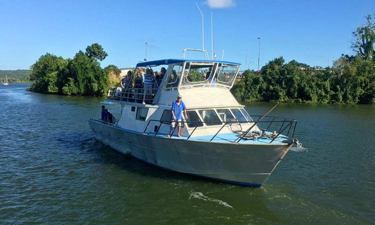 Enjoy Fishing at Mission Beach, Queensland on 50' Westcoaster Sport Fisherman