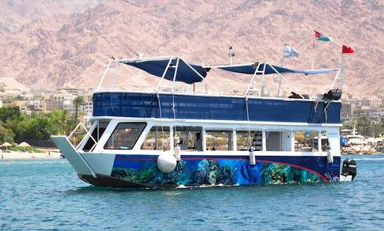 Charter 39' Aqua Coral Passenger Boat In Amman, Jordan