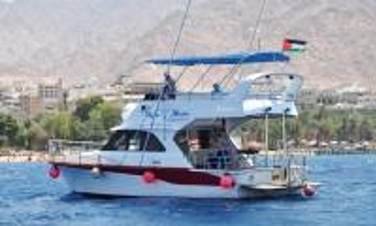 Charter Hajman 1 Motor Yacht In Amman, Jordan