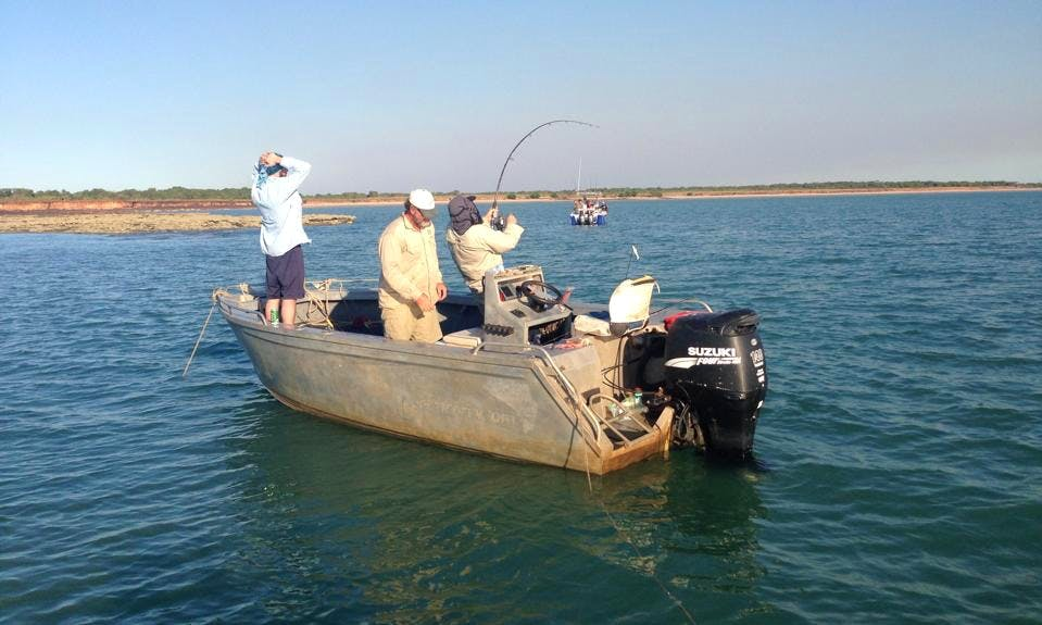 Enjoy Fishing in Darwin City, Northern Territory on Dinghy