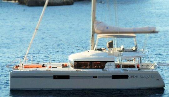 Cruising Catamaran Rental In Charlotte Amalie West