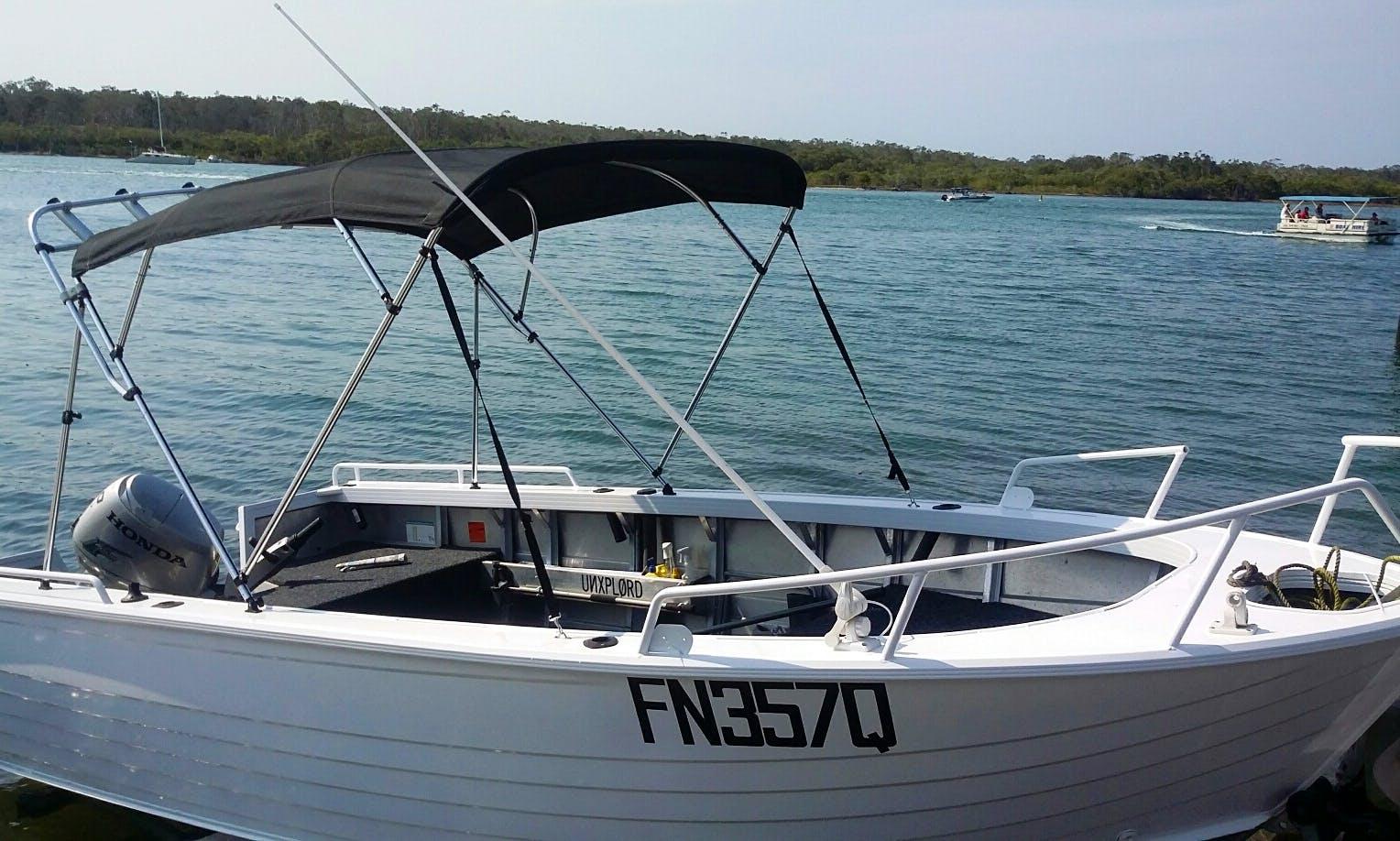 5.29M Stacer Seahorse fishing Boat in Noosaville, Queensland