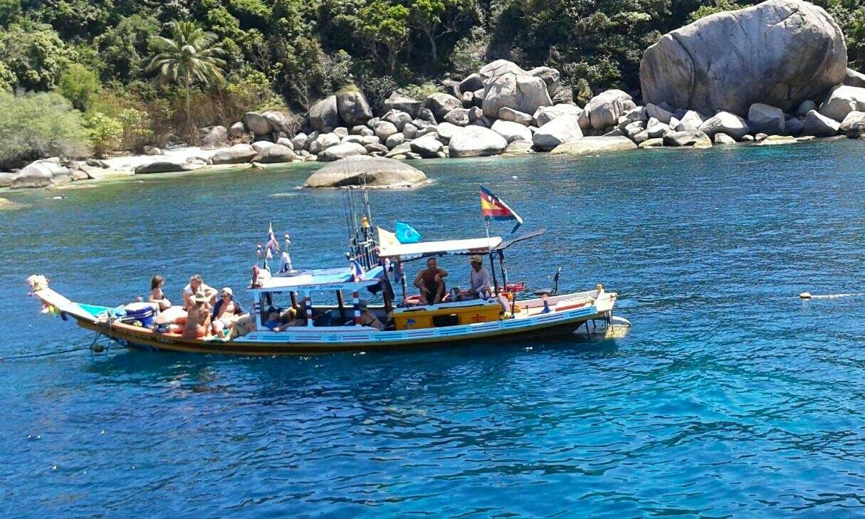 Charter Longtail Boat in Tambon Ko Tao, Thailand