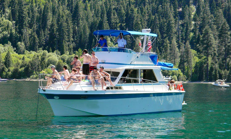 36' Motor Yacht Charter in South Lake Tahoe, California