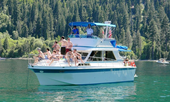 36' Motor Yacht Charter In South Lake Tahoe, California