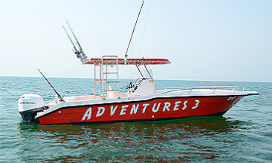 Deepsea Fishing Charter Aboard The Red Center Console For 11 People!