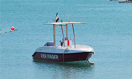 Rent A Fish Finder Boat For 7 People In Ras Al-khaimah, United Arab Emirates