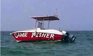 Gamefisher Boat for 7 People for Rent in Ras Al-Khaimah, UAE